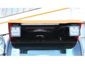 Универсальный погрузчик с бортовым поворотом АМКОДОР 208Е