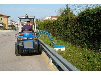 Косилка для обработки обочин дорог