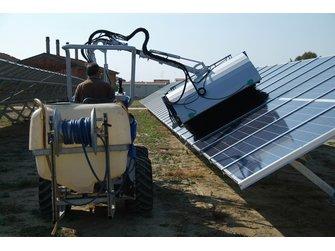 Мойка для солнечных панелей