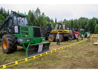 Конкурс профессионального мастерства среди лесозаготовителей «ЛЕСОРУБ-2015»